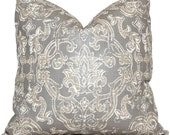 Decorative Pillow Cover Contessa Champagne Lacefield Decorative Pillow Cover, Throw Pillow, Accent Pillow, Pillow Sham