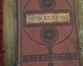 Antique Victorian Hans Christian Andersen book everything in its right place 1869