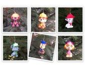 CLEARANCE Paw Patrol Christmas Ornaments: Rocky, Marshall, Chase, Zuma, Rubble, Skye
