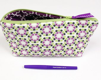 SALE - Pencil Pouch - Large Size - Bible Journaling - Cosmetic Case -  READY to SHIP