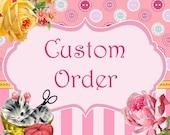 Custom Order - Set Of Three Lavender Scented Bookmarks
