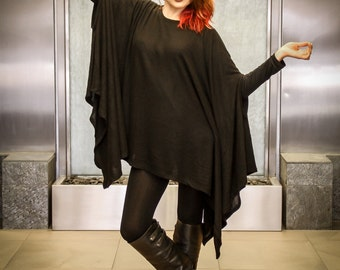 Poncho-Style Tunic-Made In USA