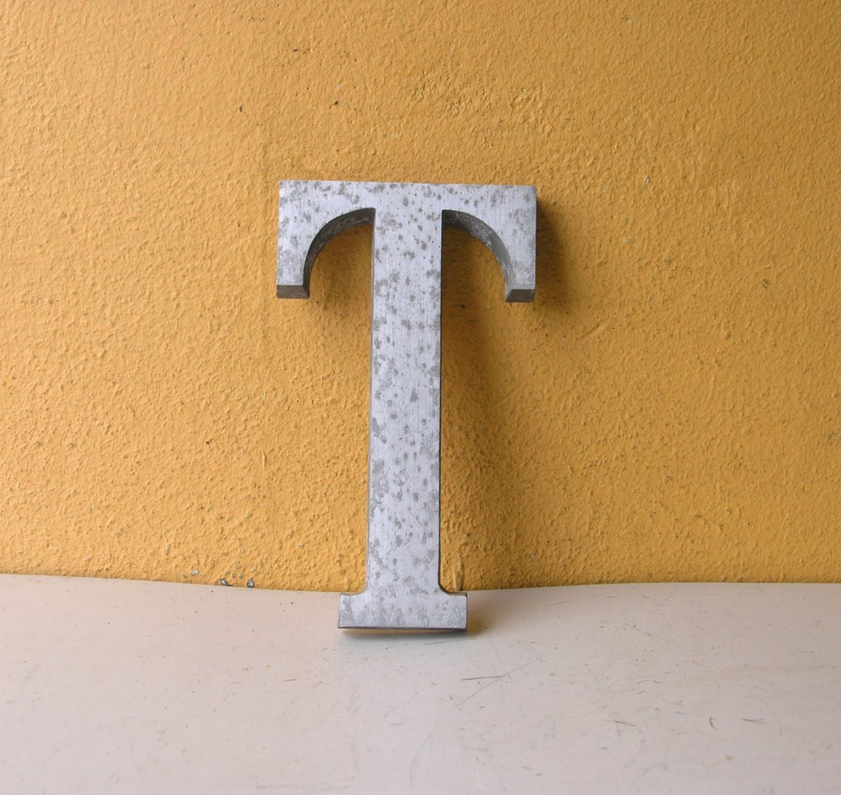 6x3 metal letter t birthday decoration door house letter t for Letter t decoration