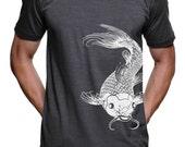 Koi Fish T-Shirt / American Apparel Tshirt / Size & Color Options
