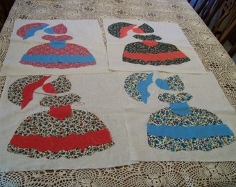 Southern Belle Pattern Pieces Project Ready Lot of 4