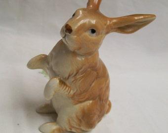 Vintage Bunny Figurine Sitting Rabbit