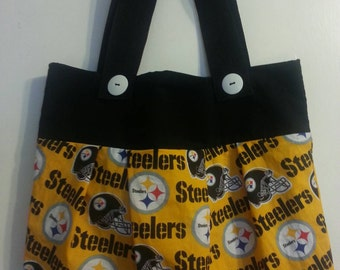 Pittsburgh Steelers inspired purse