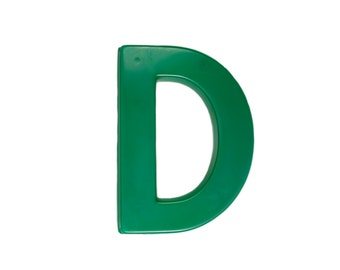 Marquee Letter D - Vintage - Signage - Plastic - Store - Sign - Capital