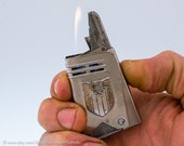 Working 1930s IMCO Silby 4800 Austrian Automatic Pocket Lighter