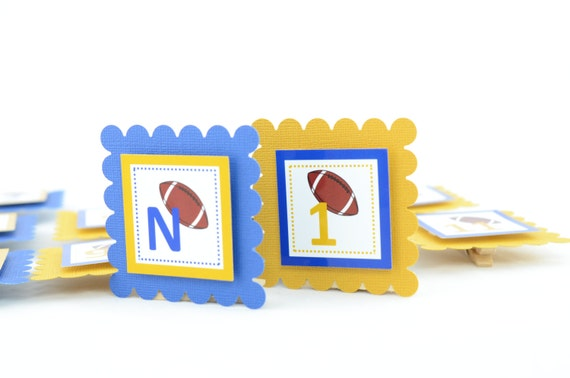 Football 12 Month Photo Banner, First Year Photo Banner, First Year Banner, Football Birthday Party, Any Theme, c-1054
