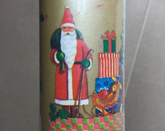 Vintage dead stock wrapping paper Christmas wrap -never opened