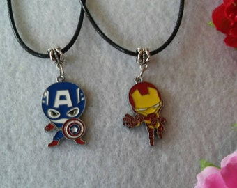 10 Hero Necklaces Party Favors.