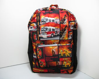 Hearts & Homes Firefighters K-1 Backpack
