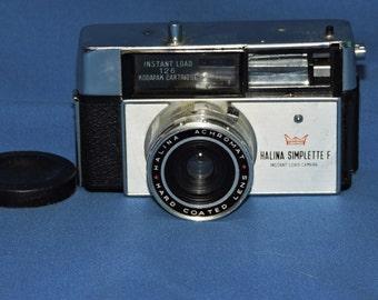 Vintage Halina Simplette F Instant Load Camera For Kodapak Cartridge