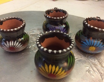 Miniature Pots with Handles Mexico
