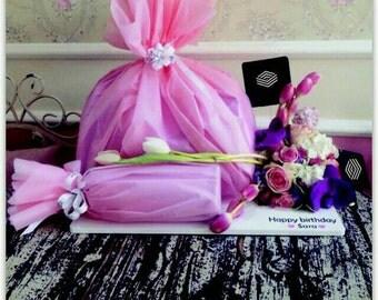 Gift stand ,gift box