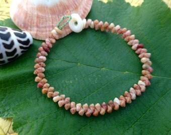 Hawaii Bracelet - Shell Jewelry - Rare Shells - Nautical Eco Friendly Rare Seashell Bracelet Kauai Beach Island Seashell Bracelet Hawaii