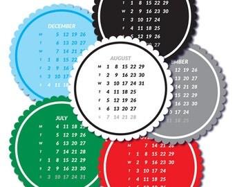 2016 Calendar  Tags
