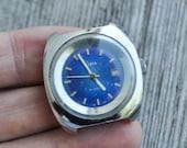 Vintage Soviet wrist watch for parts. Didn't work.