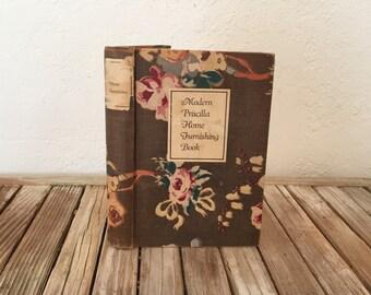 Vintage Modern Priscilla Home Furnishing Book 1925