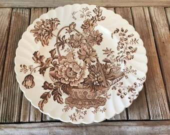 Collectible Clarice Cliff Charlotte Plate Royal Staffordshire