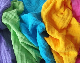 Lange coloré 100% coton