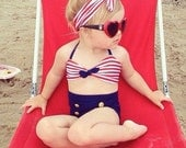 Sailor Bathing Suit babies, infants, toddlers