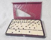 Cased Double Six Standard Domino Set