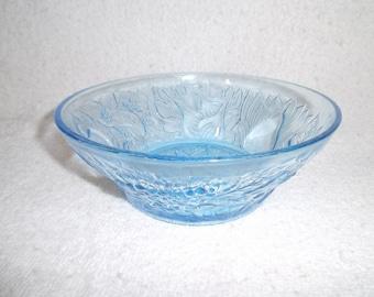 Aqua Blue Serving Bowl