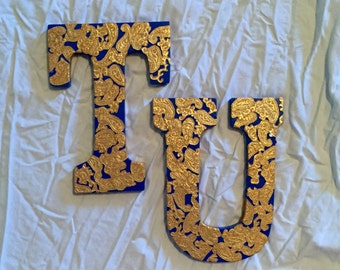 TU Block Letters