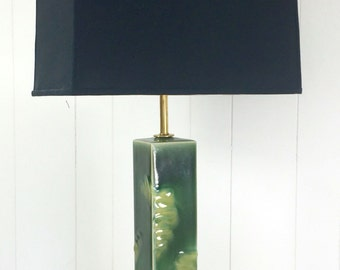 Green on Green Lamp
