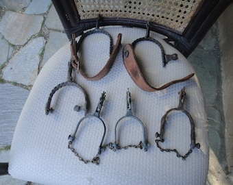 Spurs Western vintage lot of 6