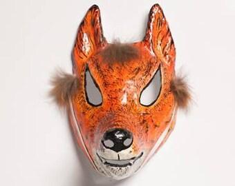 paper fox mask