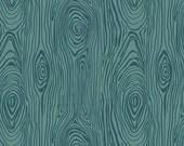 Custom order for burbfam04 Wood Teal 1 1/2yd