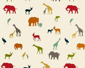 The Tribe From Birch Organic Fabric's Serengeti Collection by Jay-Cyn Designs
