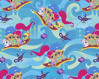 Shimmer & Shine Friends from Springs Creatives