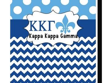Kappa Kappa Gamma/Personalized Garden or House Flag