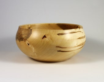 Outstanding Enclosed Rim Wooden Bowl - This Bowl Is Amazing on So Many Levels and Would Make a Perfect Gift!