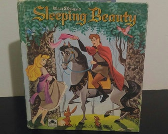 Vintage Tell-A-Tale Book - Sleeping Beauty