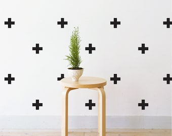 Mini Crosses | Removable Wall Decal & Sticker for Home, Office, Nursery | LSB0215VCC
