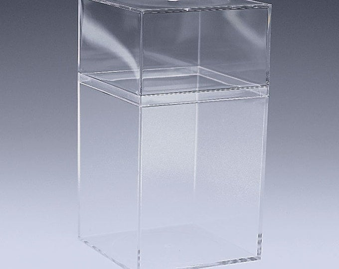 Clear Acrylic Favor or Gift Box - Large