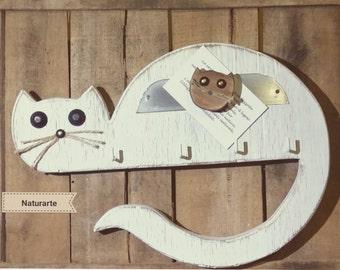 "Keyhanger ""Horizontal Cat"""