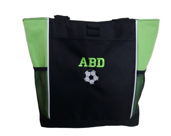 Tote Bag Personalized Coach Team Mom Competition Baseball Football Soccer LAX Basketball Softball Track Cross Country Wrestling