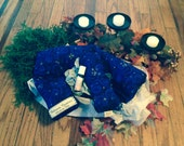 Holiday Relaxation Gift Set w/ Contoured Neck Pillow, eye pillow and aromatherapy add-on