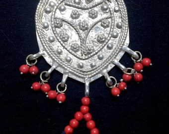 WINTER SALE Vintage Afghani Fancy Slave Bracelet Boho Goth Gypsy Tribal Belly Dance Uber Kuchi®