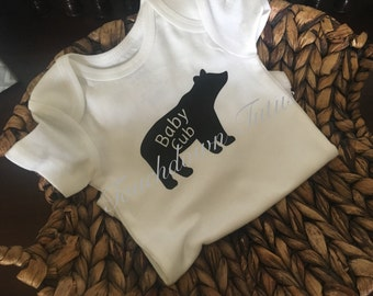 Baby Cub onesie