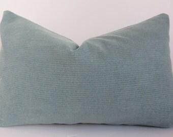 Teal Pillow Cover - 12x20 Pillow Lumbar - Pillow Lumbar - turquoise Pillow - Pillow Cover- Teal Pillow Cover- Pillow- Decorative Lumbar