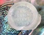 Vintage BEST FOODS jar becomes beach sea glass BF-F8-1