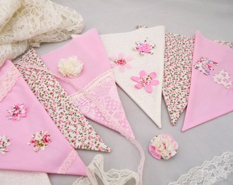 Hen Party Bunting Kit. Make your own personalised wedding bunting craft party DIY idea