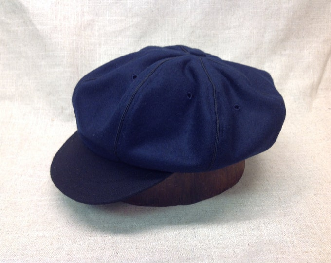 Shanty Boys of Cheboygan Vintage Base Ball cap. Custom made to order, any size, leather or cotton sweatband